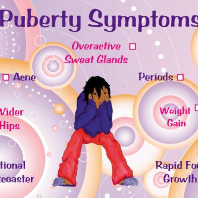 Puberty Sympton Card